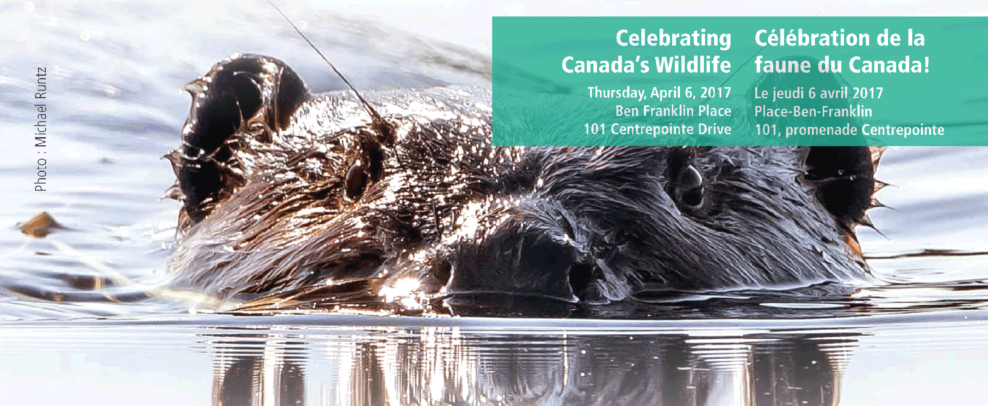 Wildlife Speaker Series A Celebration of Canada's Wildlife - April 6, 2017