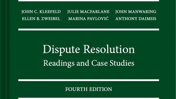 Dispute Resolution Book cover
