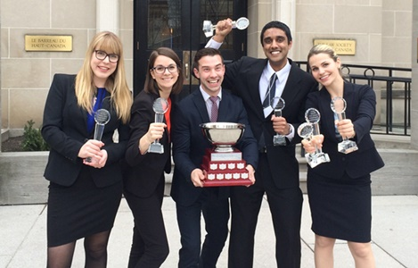 Winners of Walsh Negotiation Competition