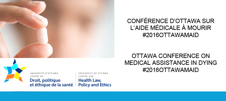 Banner for Ottawa Conference on Medical Assistance in Dying