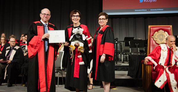 Dean Adam Dodek Common Law Section, Cindy Blackstock and Dean Céline Lévesque Civil Law Section