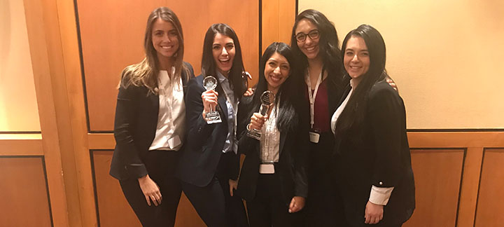 2018 Walsh Family Law Negotiation Competition Team