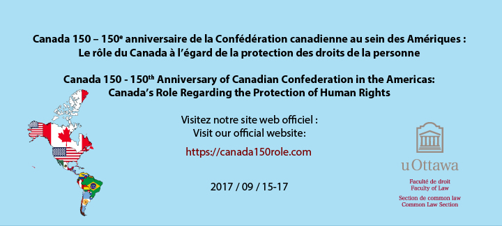 Canada 150 - 150th Anniversary of Canadian Confederation in the Americas
