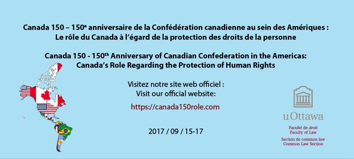 Canada 150 - 150e anniversaire de la Confédération canadienne au sein des Amériques