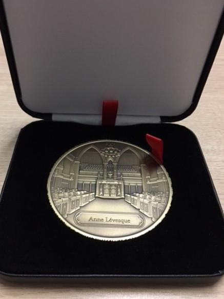 Photo de la médaille du Sénat