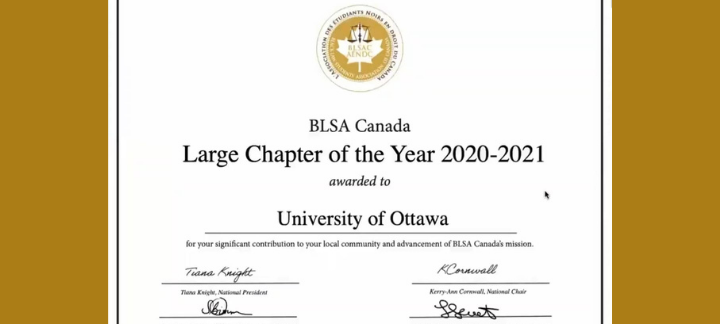 BLSA Large Chapter of the Year Award