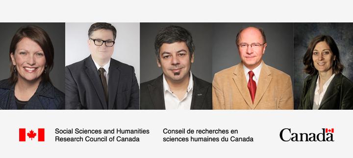 Image of Professors Bond, Larocque, Velloso, Packer and Simons