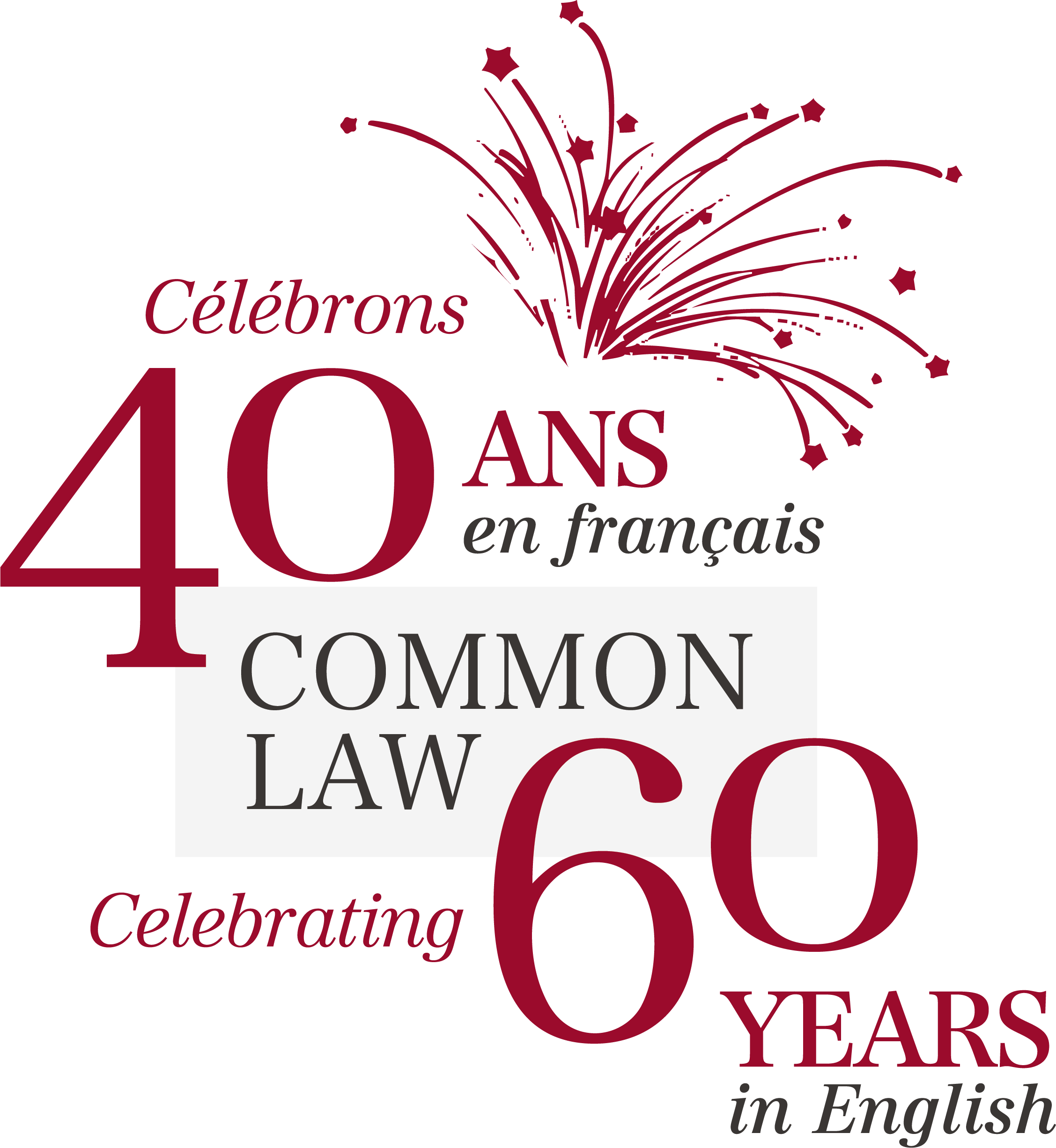 Logo 60/40 de common law