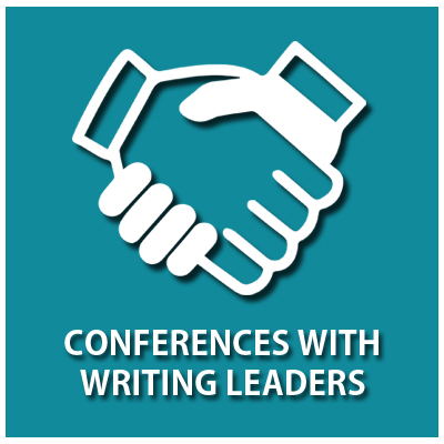 Icon linking to Conferences for Writing Leaders