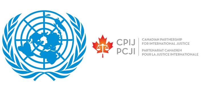 United Nations and CPIJ logos
