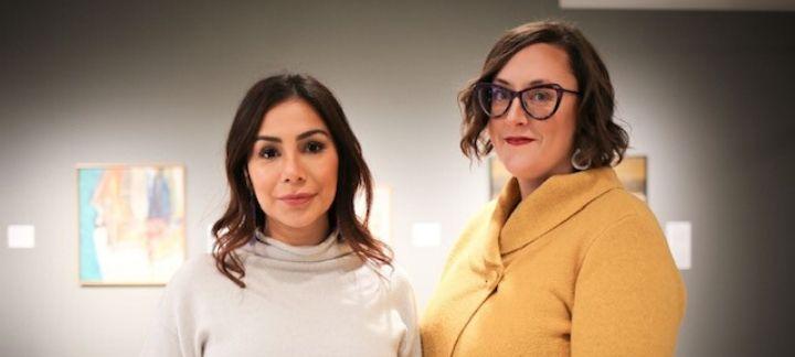 Natane Allison, apprenante and Danielle Lussierà, coordonnatrice