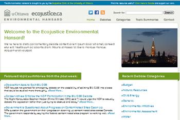 Environmental Hansard
