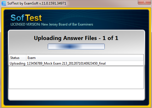 uploading answer files