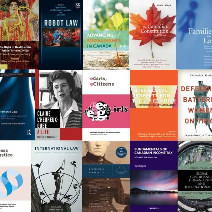 Publications des professeurs