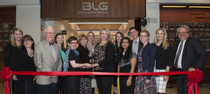 Grand opening of the BLG wing