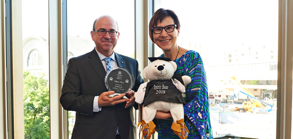 Dean Adam Dodek Common Law Section, Spirit Bear and Cindy Blackstock