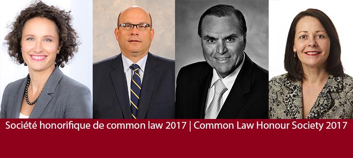 Société honorifique de common law 2017