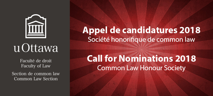 Common Law Honour Society 2018
