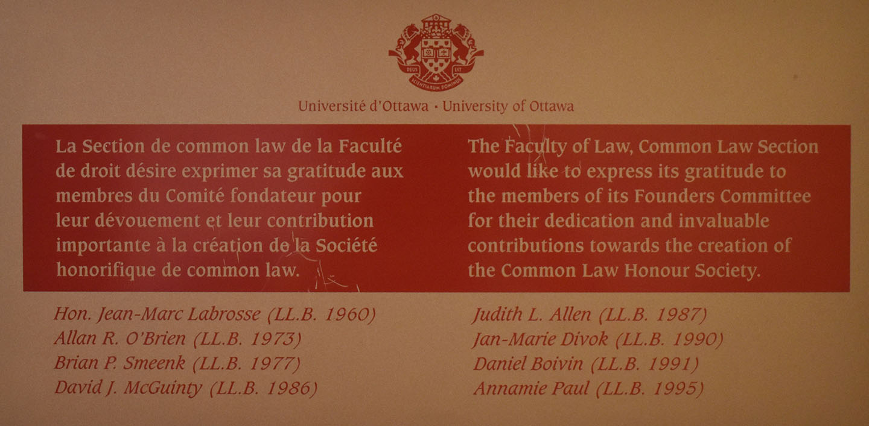 Common Law Honour Society