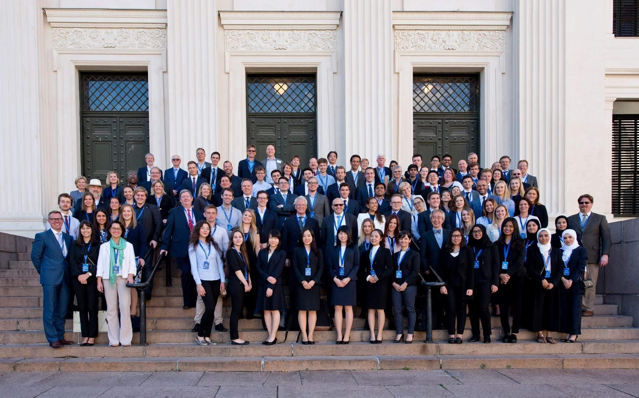 Les participants du Concours de négociation internationale 2017