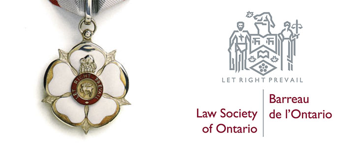 Law Society of Ontario Medal and Logo