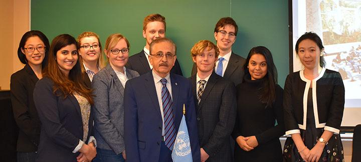 Class photo: Law of International Organizations