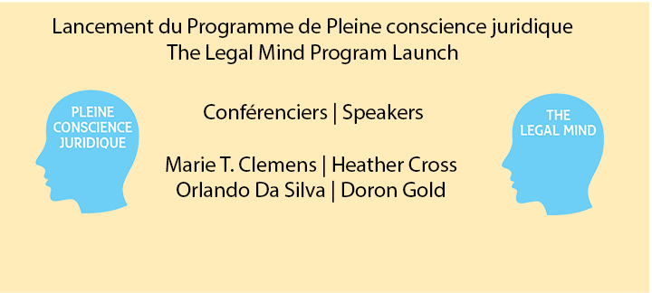 Bannière pour le Programme de Pleine conscience juridique