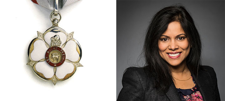Carissima Mathen and the Law Society of Ontario Medal