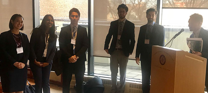 Winners of the Inaugural Canadian Copyright Policy Moot