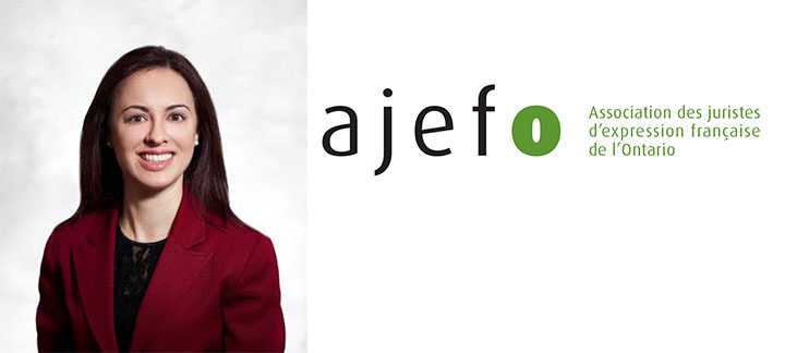 Nadia Effendi and AJEFO Logo