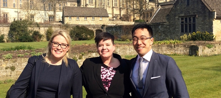IP Moot Students in Oxford