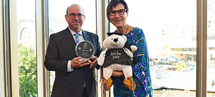 Dean Dodek and Honourary Doctorate Cindy Blackstock