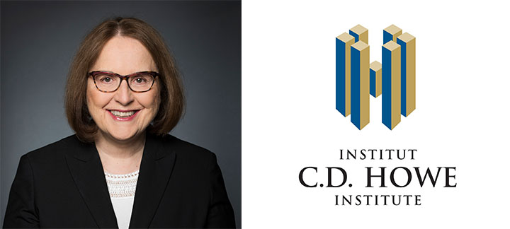 Debra Steger and C.D. Howe Logo