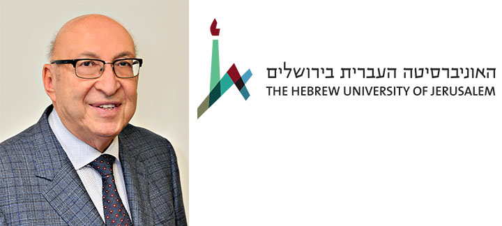 Stephen Victor and Hebrew University Logo