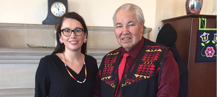 Caitlin Tolley et Murray Sinclair