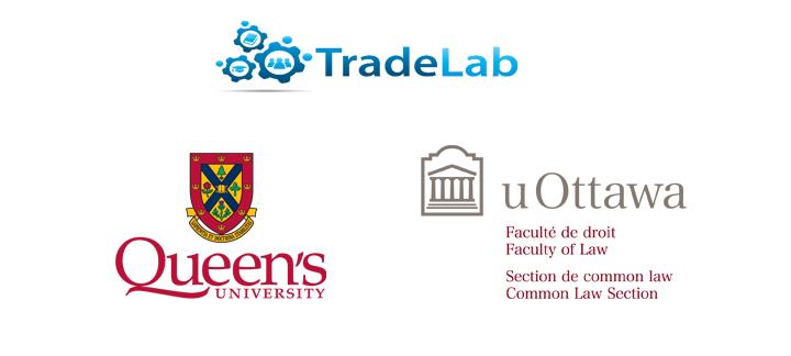 Bannière uOttawa, Queen's et TradeLab