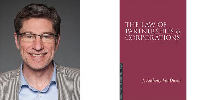 Tony VanDuzer et la couverture de son nouveau livre