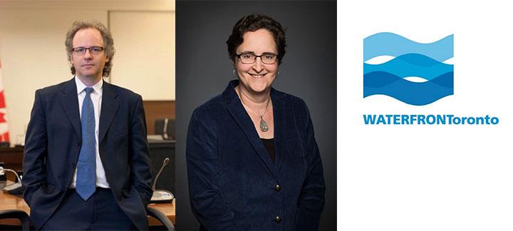 Michael Geist, Teresa Scassa and the Waterfront Toronto Logo