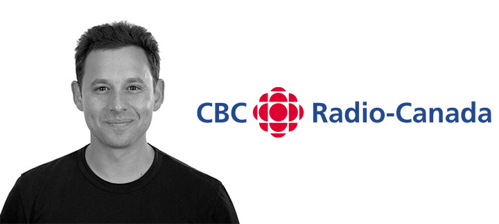 Photo of Harley Finkelstein and CBC Logo