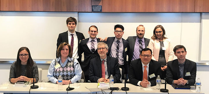 2018 WTO Moot Team